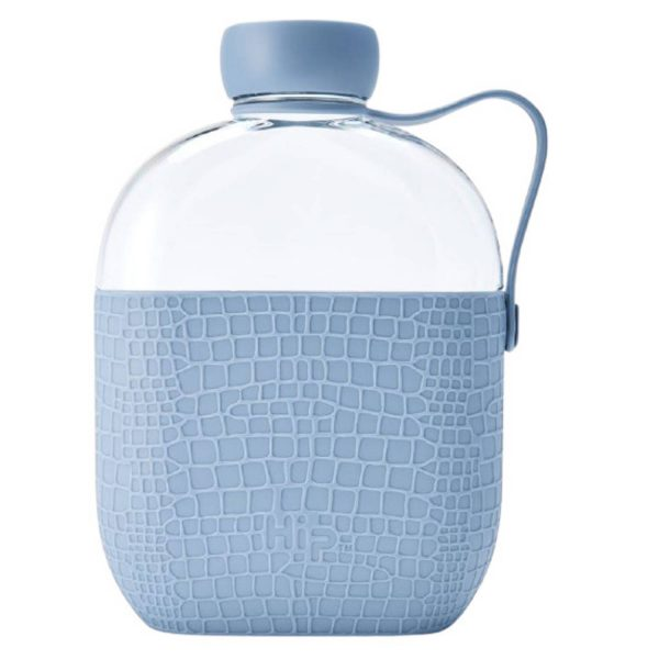 Hip Drinkfles 650 Ml Polypropyleen Blauw/transparant