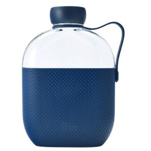 Hip Drinkfles 650 Ml Polypropyleen Donkerblauw/transparant