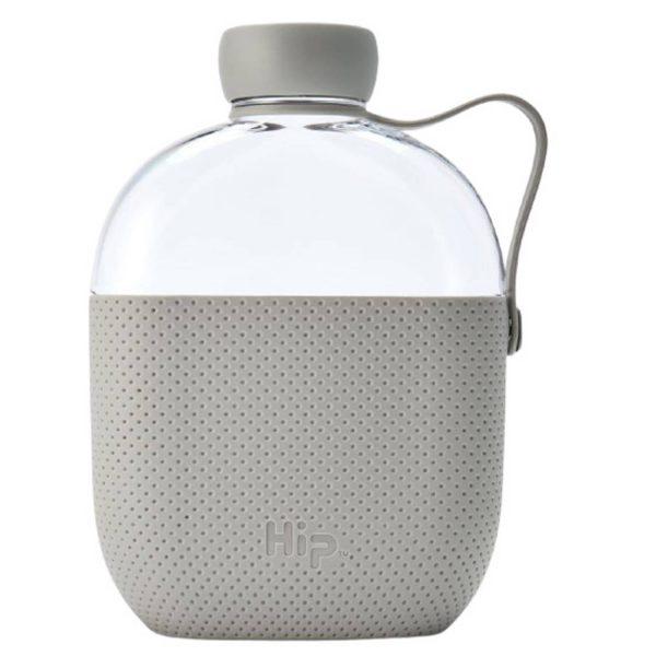 Hip Drinkfles 650 Ml Polypropyleen Beige/transparant